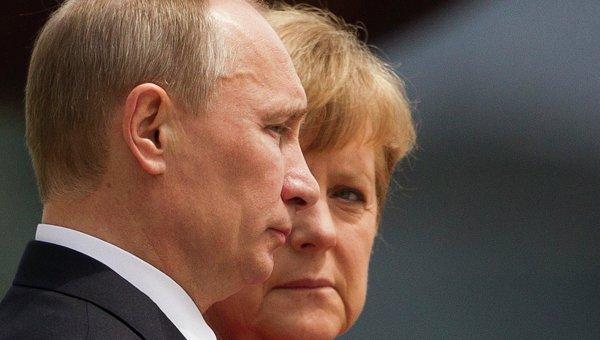 Poutine VS Merkel